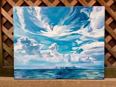 Chicago Skyline Painting by alsWonderland on Etsy