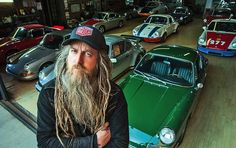 """Magnus Walker is a bit of a personal hero of mine. He's a British clothing designer based in the USA who has an unbridled passion for old, air-cooled Porsche 911s. He's owned over 40 of them and once a car has been owned/modified by him they become known as """"ex-Magnus Walker 911s"""" – which significantly increases their value. Magnus himself seems almost bemused by this and always comes across as an intelligent, unassuming man who likes fast cars and would probably rather to just be left alone…"""