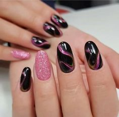 Inspirational ideas for New Magic Nail Arts 2018 - Magneti .- Inspirational ideas for New Magic Nail Arts 2018 – Magnetic Nails – # for - Marble Nail Art, Gel Nail Art, Nail Art Diy, Nail Polish, Nagel Stamping, Special Nails, Cat Eye Nails, Magic Nails, Pretty Nail Art
