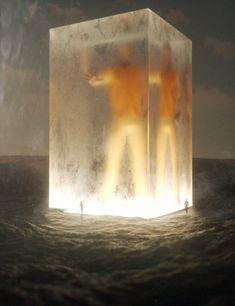 Ilustrações digitais e renders 3D surreais e de ficção científica de Stuart Lippincott.