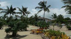 CT Alemanha - resort constuido para copa do mundo 2014 -- A entrada pela praia do Campo Bahia em Santo André, no município de Santa Cruz Cabrália