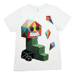 2K T-Shirts Fuzz (White) Men's T-Shirt