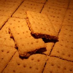 Graham Crackers (Gluten Free) Recipe - I have been searching for this! S'mores here I come!