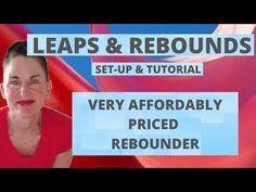 LEAPS AND REBOUNDS REBOUNDER | SET UP -TUTORIAL | AFFORDABLE REBOUNDER | AFFORDABLE MINI TRAMPOLINE - YouTube