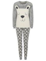 Polar Bear Fleece Pyjamas