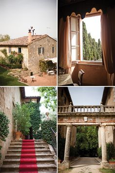 Real Tuscan wedding venue #tuscanwedding #weddingideas