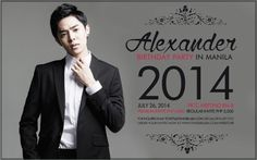 cool Alexander Lee Eusebio to hold a Birthday Party in the Philippines!