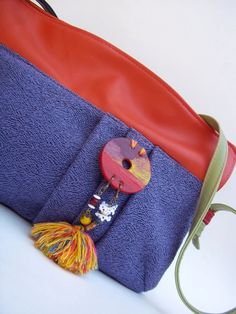 Green Bag Project # Bag by Amaradi # hand crafted # eco fashion