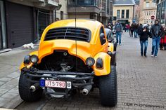 baja bug with type 4 vw engine