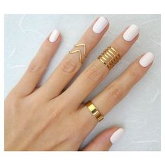 9 Above the Knuckle rings, Gold knuckle ring, Stacking rings, chevron... ❤ liked on Polyvore featuring jewelry, rings, nails, stackable rings, thin rings, above-the-knuckle rings, mid-finger rings y gold mid finger rings
