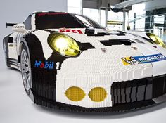 """Made out of 380K Lego bricks, our 1:1 #911RSR showcar is 50% real, 50% #Legos & 100% nostalgic. Follow its U.S. tour, beginning this weekend at…"""
