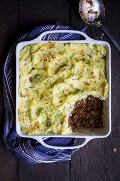 Shepherd's Pie with Champ Mash | DonalSkehan.com, A tasty classic with a new Irish twist!