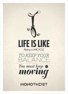 Life is like...