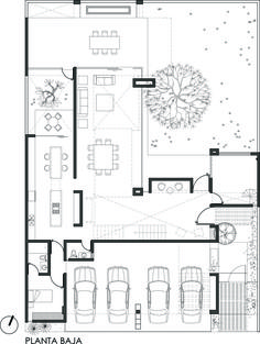Image 20 of 26 from gallery of Casa Mezquite / BAG arquitectura. Floor Plan 01