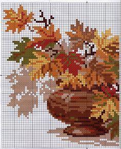 Otono - Blätter vom Herbst - Autumn -Automne   - Gallery.ru / Фото #121 - Схемы к моим картинам - logopedd