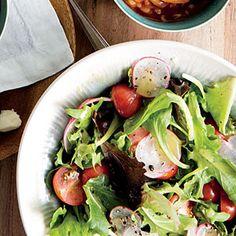 Simple Salad with Lemon Dressing | MyRecipes.com