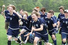 Great soccer action shot from the Cape Cod Challenge Cup youth soccer tournament