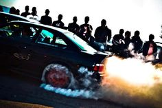 BMW E36 !!!!....BURNOUT....