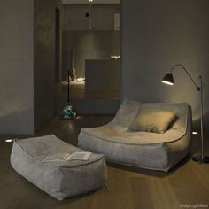 Living Room Inspirations: Living room lighting that will elevate your living room decor Cozy Living Rooms, Apartment Living, Living Room Decor, Living Room Lounge Chair, Sofa Design, Interior Design, Home Furniture, Furniture Design, Modul Sofa