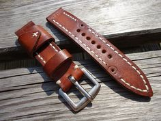 watch strap vintage leather ammo - Google Search