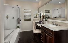 Lennar New Homes For Sale - Building Houses and Communities Night Time Routine, Dream Bathrooms, Bubble Bath, New Homes For Sale, Double Vanity, Relax, Layout, Interior, Remodeling Ideas