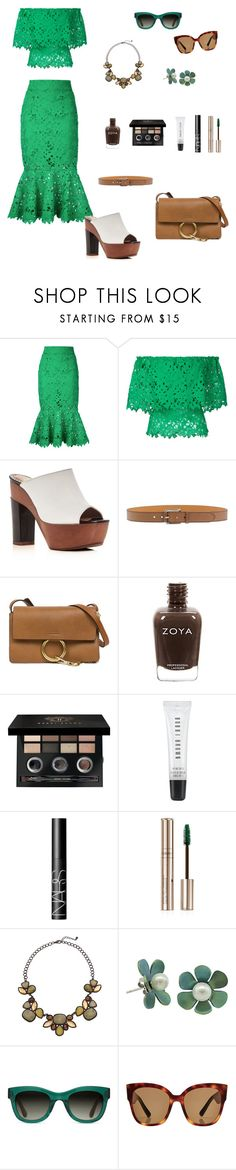 """""""Untitled #434"""" by ladyasdis ❤ liked on Polyvore featuring Bambah, ALEXA WAGNER, Etro, Chloé, Bobbi Brown Cosmetics, NARS Cosmetics, By Terry, TOMS and Gucci"""
