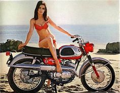 Vintage Motorcycle Girls 068 ~ Return of the Cafe Racers