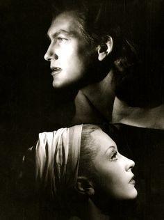 Jean Marais and Josette Day in La Belle et la Bête, by Jean Cocteau [1946]