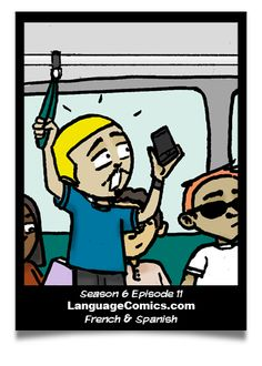 Episode in #French and #Spanish. Find more at http://www.languagecomics.com/pol-flor-episode-guide/