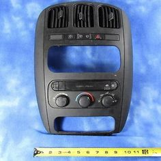 cool 01-03 Chrysler Voyager Climate Control w Bezel & Vents 05009035AA OEM 1853-2 - For Sale