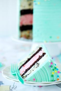 Birthday Medley Layer Cake from Sweetapolita