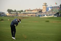 Dubuisson hoping to be the Victor in Dubai   Round Three report  Victor Dubuisson will take a one-shot lead into the final round of the DP World Tour Championship Dubai after posting a superb third round 64 over the Earth Course at Jumeirah Golf Estates.   An impressive burst of scoring on his back nine - including a birdie at the last - saw the Frenchman move to 13 under one stroke clear of nearest challengers Nicolas Colsaerts Tyrrell Hatton and Matthew Fitzpatrick.   Rafa Cabrera Bello…