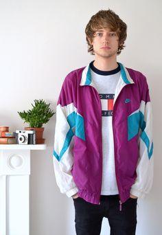 90's Vintage Nike Shell Jacket | Ica Vintage | ASOS Marketplace