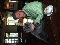 Paul and Dylan the talk Twenty 1 dog out for the day in Norfolk. Quick coffee before a run on the beach!!