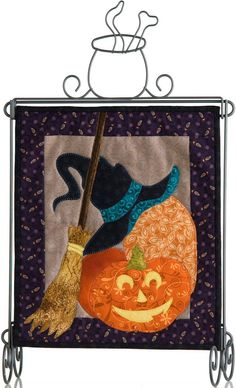 Witch Way #quilt hanging