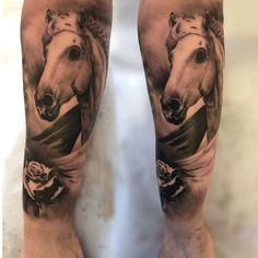 sleeve tattoo horse tattoos and more horse tattoos tattoo sleeves ...