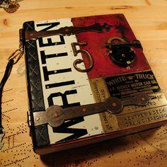 Handmade forged metal book class by Teesha Moore, teeshasLandofOdd.com.