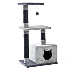PAWZ Road Cat Tree Pet Home Furniture Activity Centre Height 354 inches ** Check out the image by visiting the link.