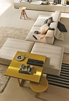 Sectional modular sofa FREESTYLE - @moltenidada