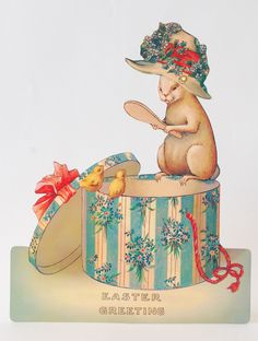 Silver Quill Antiques and Gifts - Old Fashioned Easter Cards