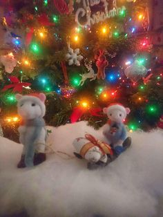 Check out this item in my Etsy shop https://www.etsy.com/uk/listing/562753885/needle-felted-christmas-mice-decoration