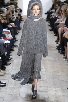 Michael Kors RTW Fall 2014 - Slideshow   Seed stitch?