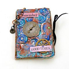 Remeber mixed media art journal cover by ld photography 12, via Flickr