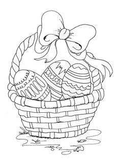 Easter Egg Colouring Pictures