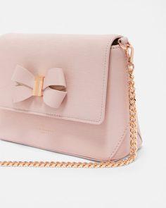 Bow detail cross body bag - Light Pink  a1dd570a7f1