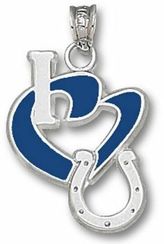 """Nfl Indianapolis Colts """"I Heart Logo"""" Enamel Pendant NFL Officially Licensed. $60.99. Save 14% Off!"""
