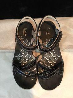 Clarks Tresca Trace Adj. Multi-Strap Sport Sandals Womens UK 5.5 US 7.5 Black #Clarks #SportSandals #Casual