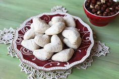 Italian Hazelnut Christmas Cookies | Italian Food Forever » Hazelnut Mezzaluna
