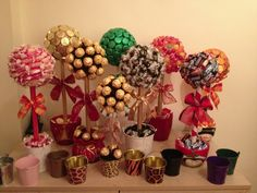 Selection of Christmas Sweet Trees available to order x