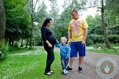 MARIA KRISTENSEN, her son Luke and partner KENT SORENSEN